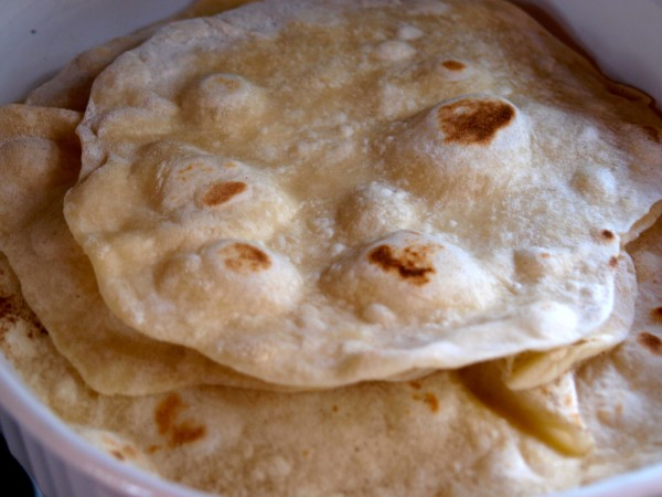 recipe for tortillas
