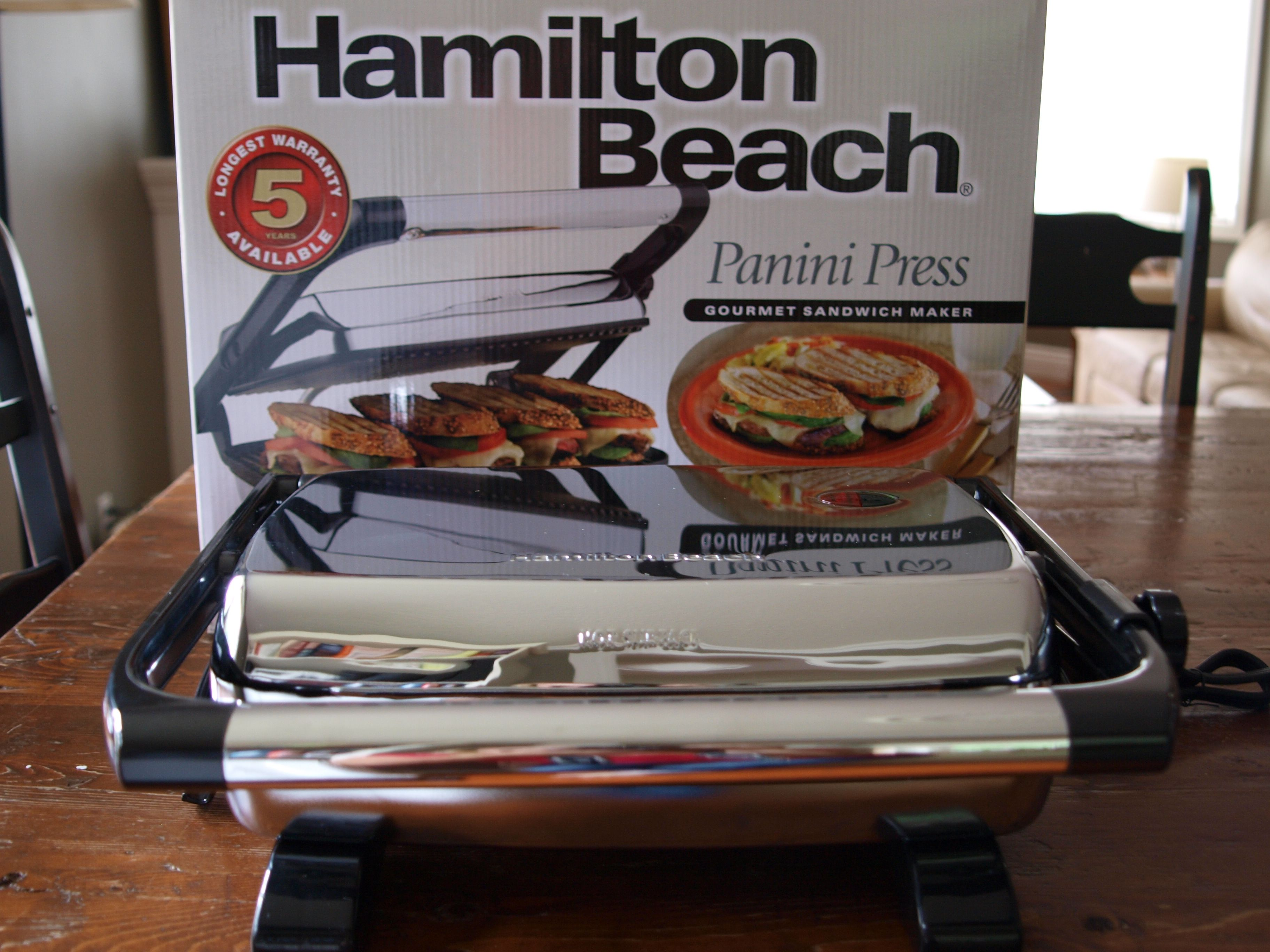 hamilton beach panini press giveaway life in pleasantville you can enter as many times as you like each combination must be submitted separately though please leave me your twitter handle if you have one