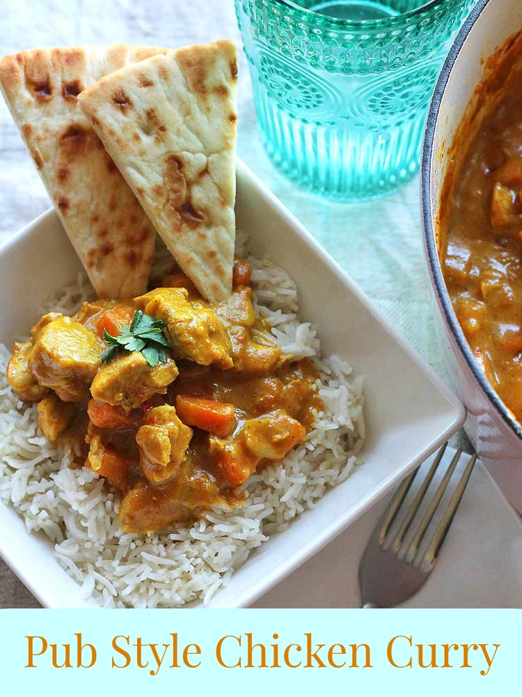Pub Style Chicken Curry The Whole Family Will Love