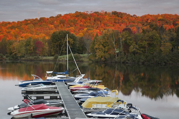 fall colours in Ontario