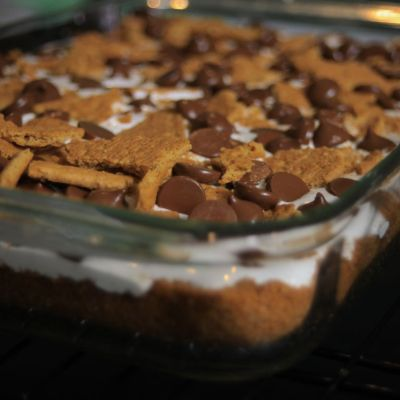 S'More Brownie Bars – A Portable Campfire Treat