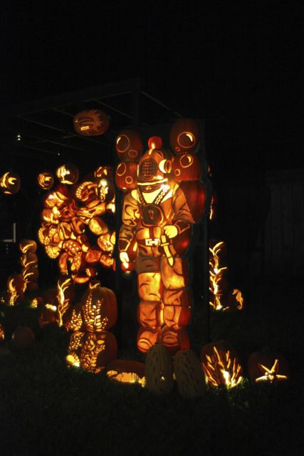 pumpkinferno in upper canada village