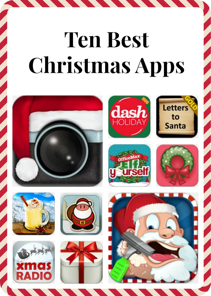 top ten Christmas apps