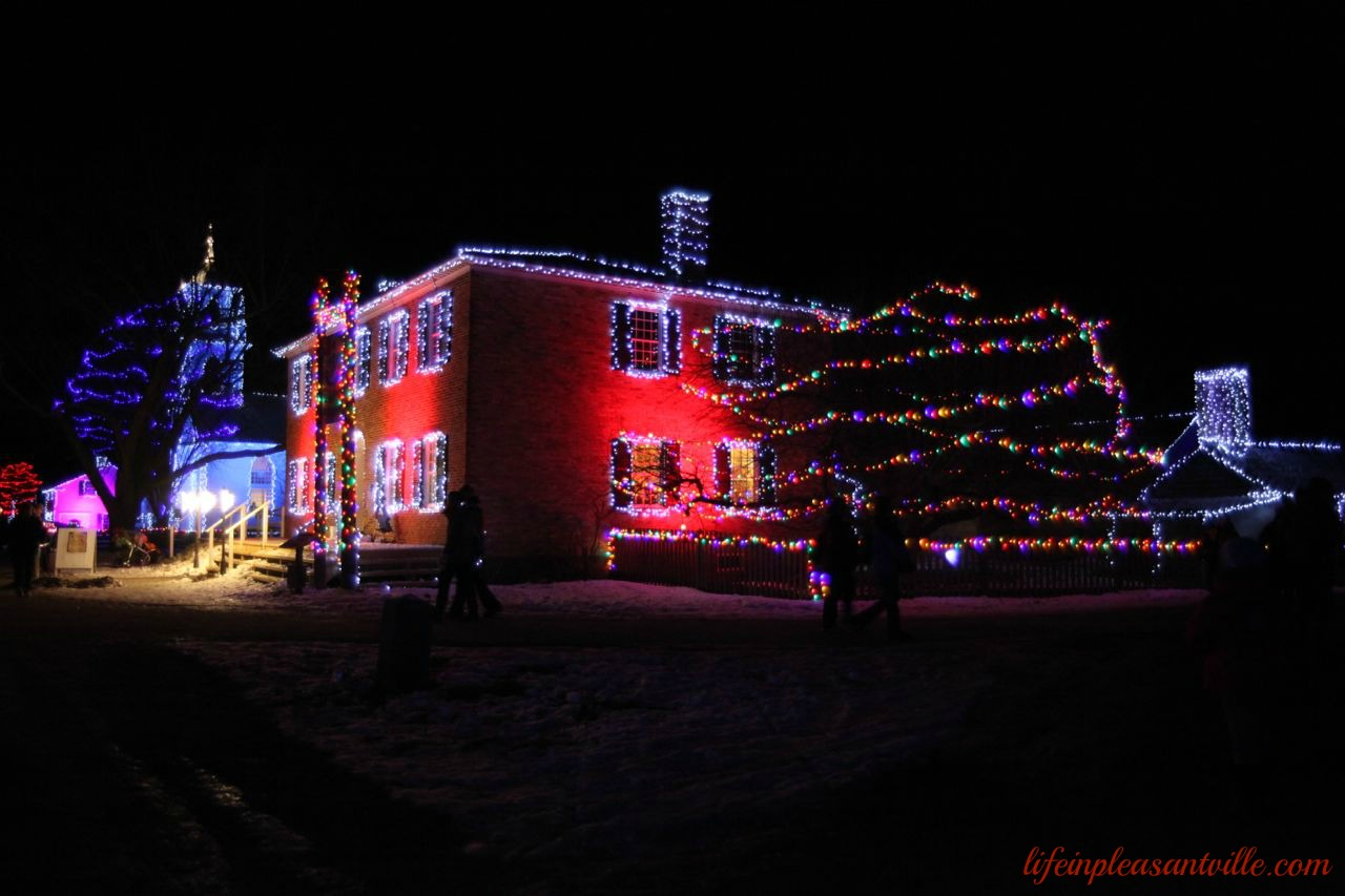alight at night upper canada village