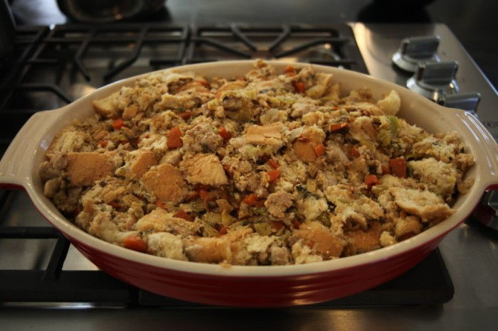 sausage turkey stuffing