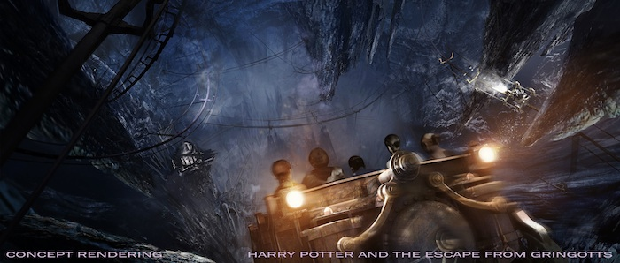 HP and the Escape from Gringotts