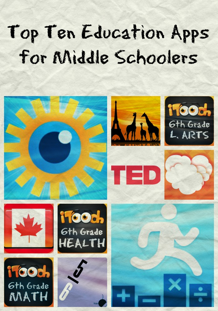 education apps for middle schoolers