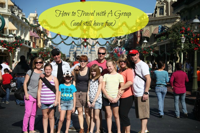 how to travel with a group