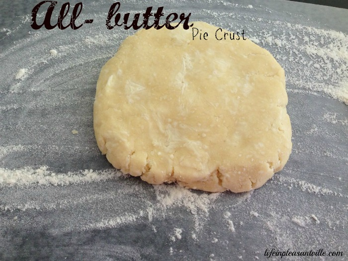how to make butter pie crust dough
