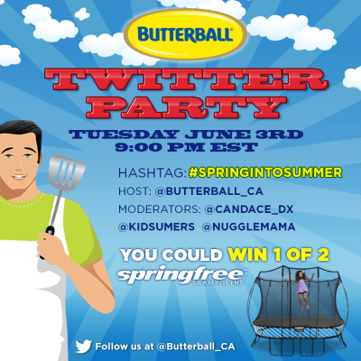 Butterball Canada #SpringIntoSummer Twitter Party