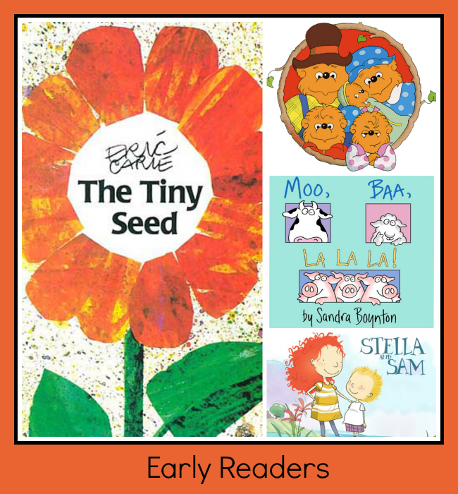 children's book series, Books_for_Early_Readers
