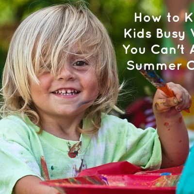 I Can't Afford Summer Camp, So What the Hell Do I Do With These Kids?