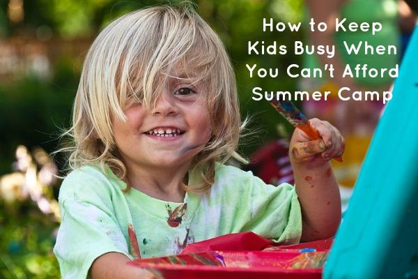 can't afford summer camp, Summer Camp Alternatives