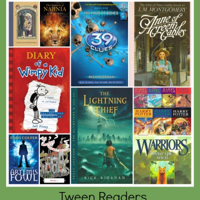 Best Children's Book Series from 3 to 13