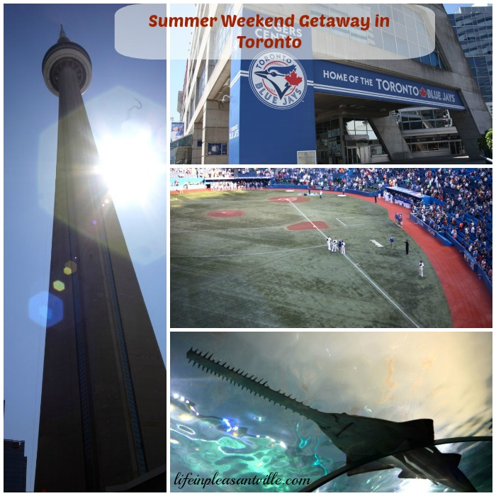 weekend getaway in toronto