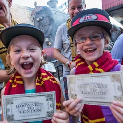 Hogswart Express Celebrates Millionth Visitor at Universal