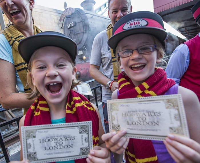 Hogwarts Express Millionth Rider Celebration 2