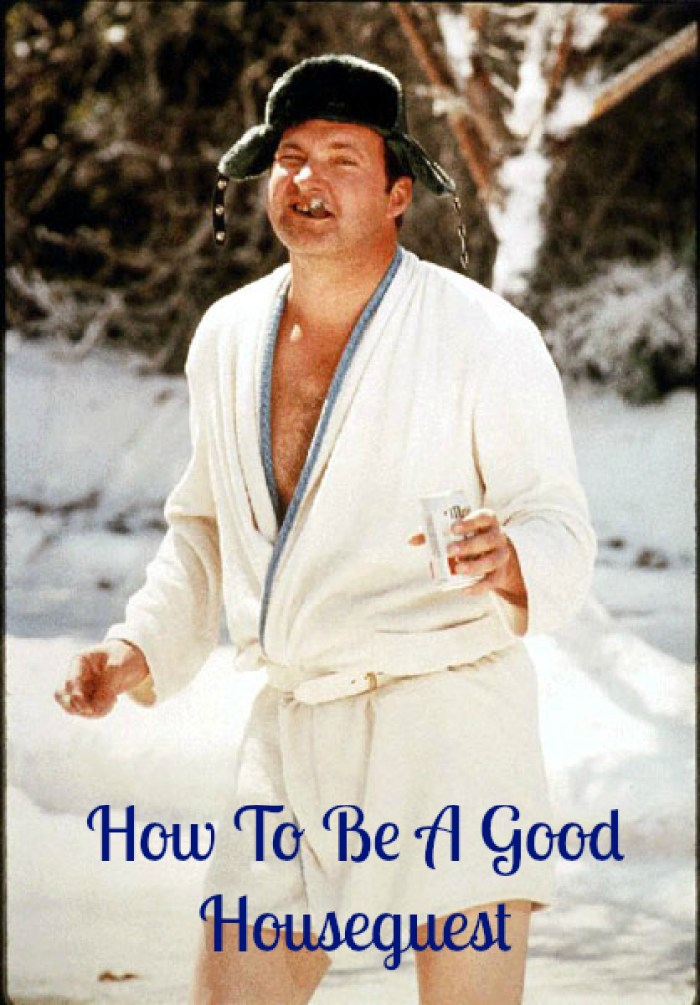 houseguest, Randy Quaid, host, houseguest, family, guests, friends, vacation, holidays, enjoy, how-to, tips