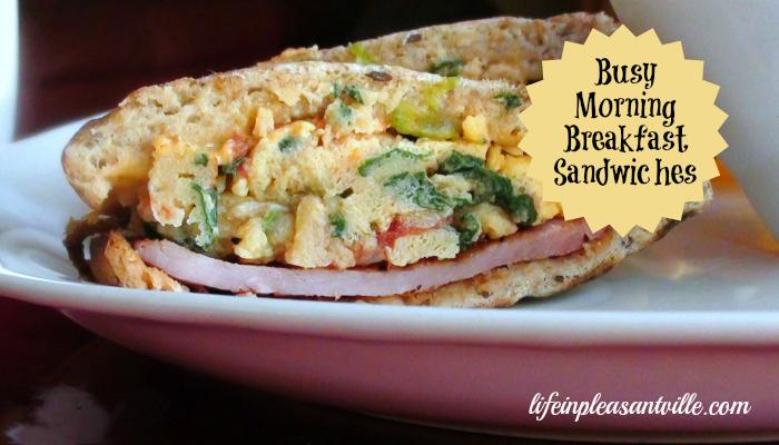 Busy Morning Breakfast Sandwich Life In Pleasantville