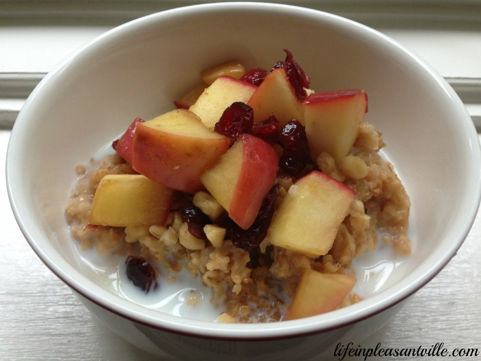 to do this fall, slow cooker oatmeal