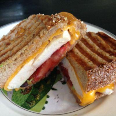 #Dinnerin15 Grilled Tex Mex Sandwich
