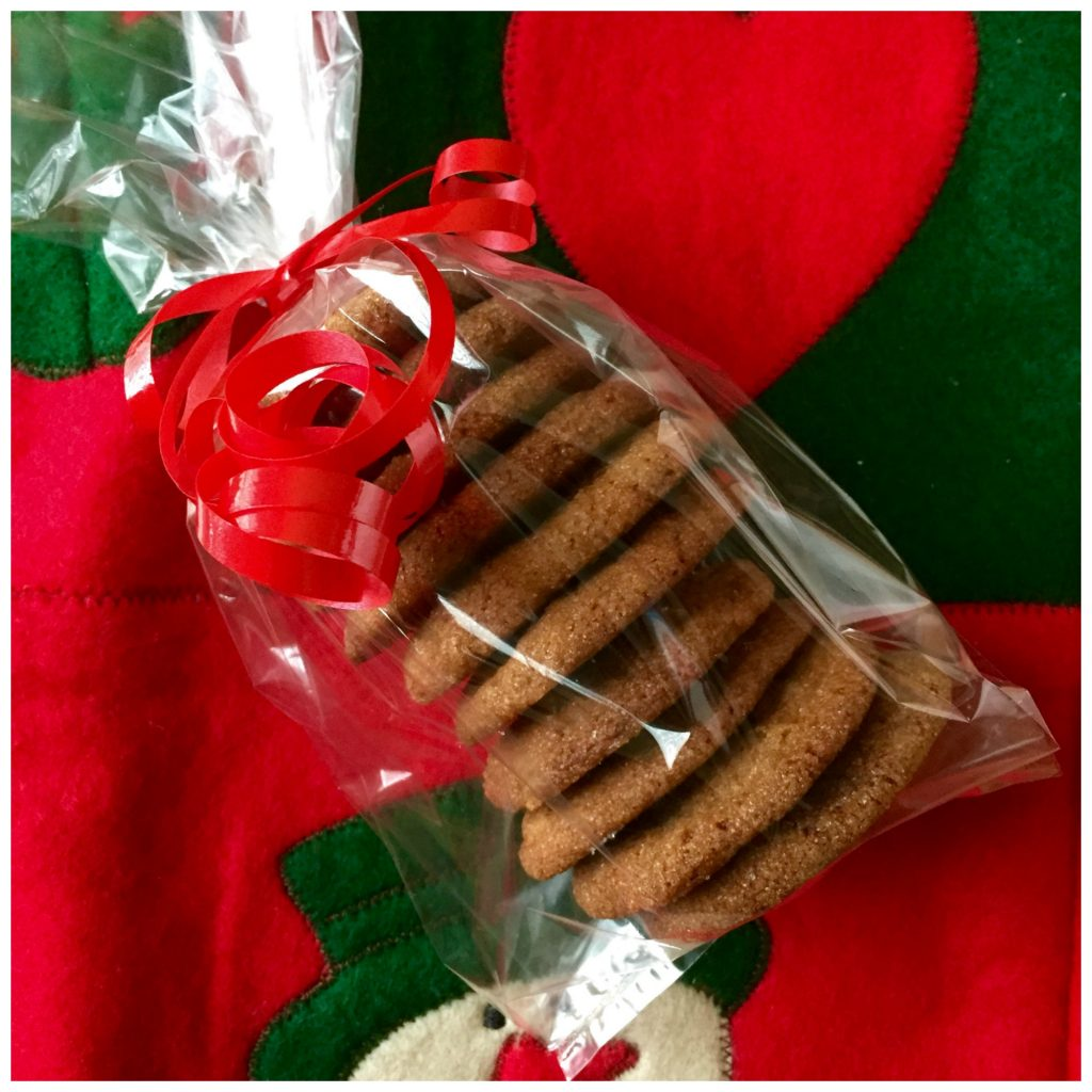 best ginger crinkle cookies, Gift of Ginger Cookies