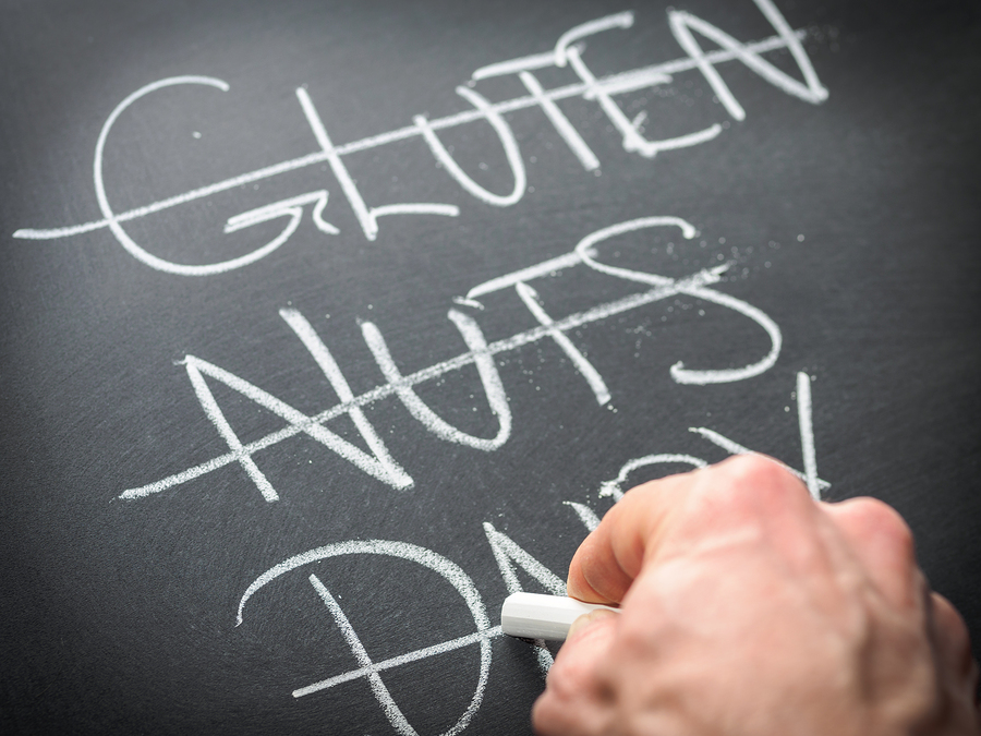 food allergies during the holidays, Eliminating Foods From Diet