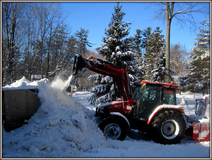 Ultimate snow fort, snow plow, snow blower