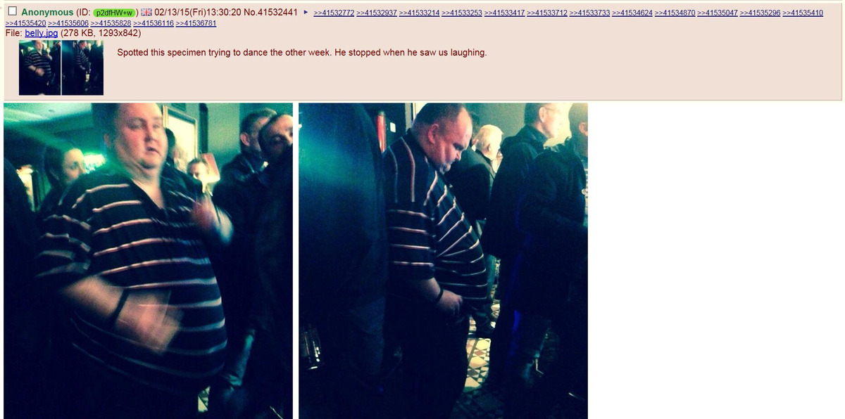 Dancing Man, Kelly Clarkson, fat shaming, celebrity, internet trolls