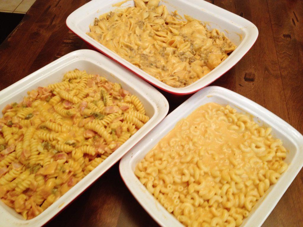 Mac and Cheese: Done Three Ways