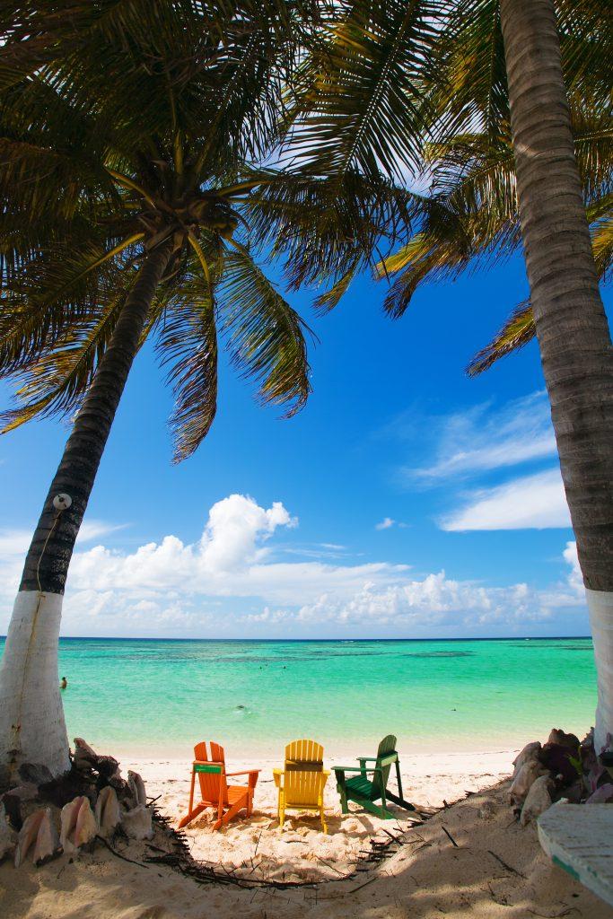 beach scene BVIs