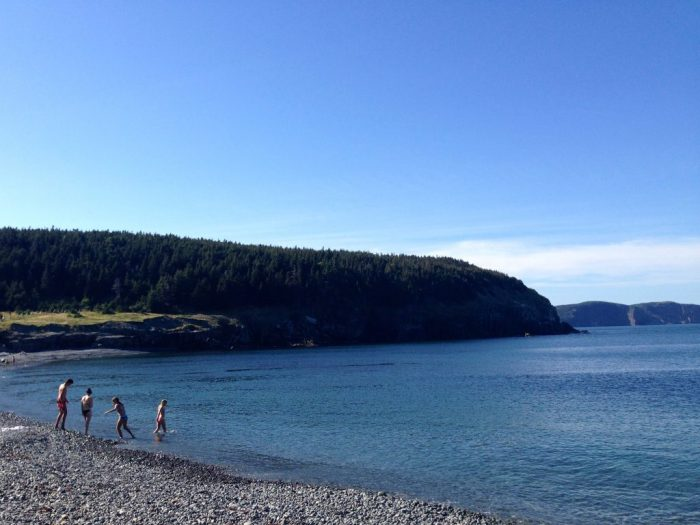 family travel in Newfoundland