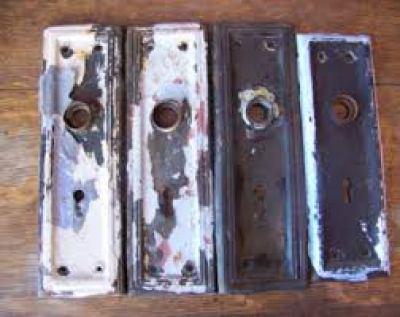 vintage metal Backplates