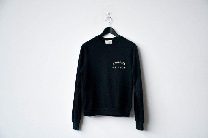 Peace Collective Canada Collection sweatshirt Canada as Fuck