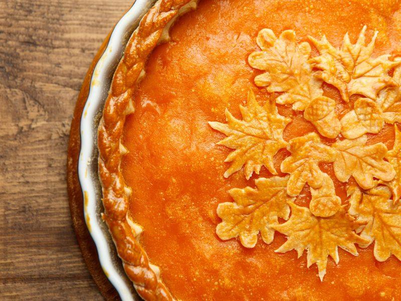 pie pumpkin fancy