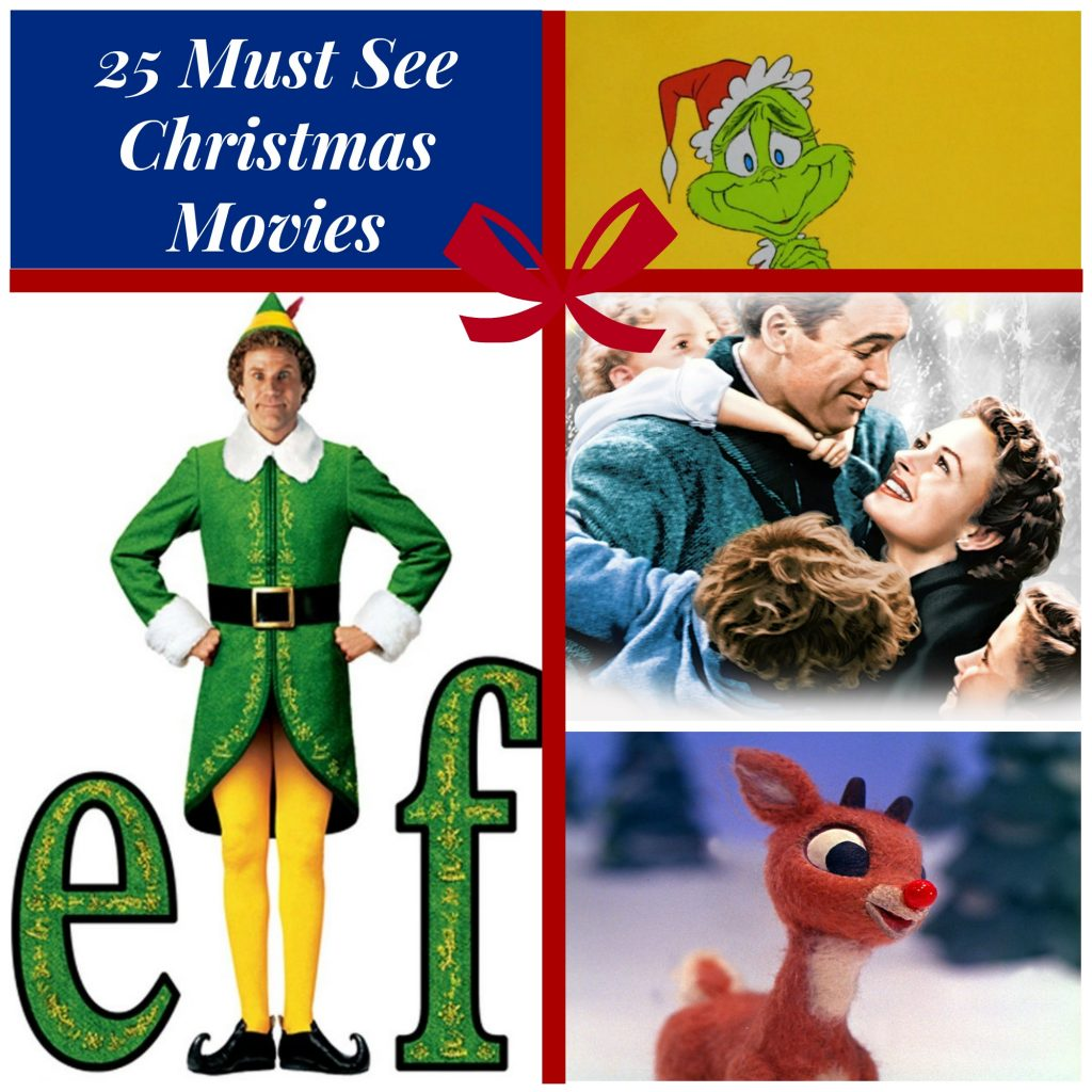 25ChristmasMoviesCollage