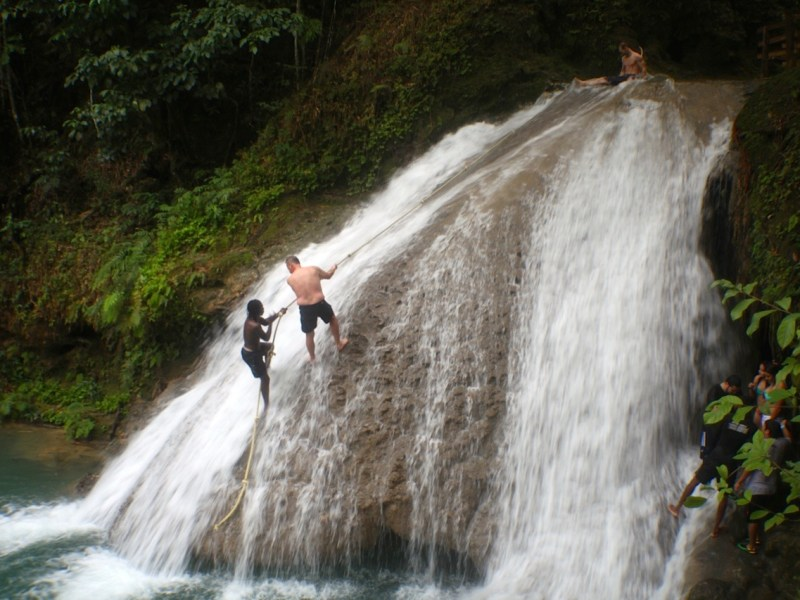 Waterfalls in Jamaica The Blue Hole