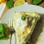 No Bake Lemon Mousee Cheesecake
