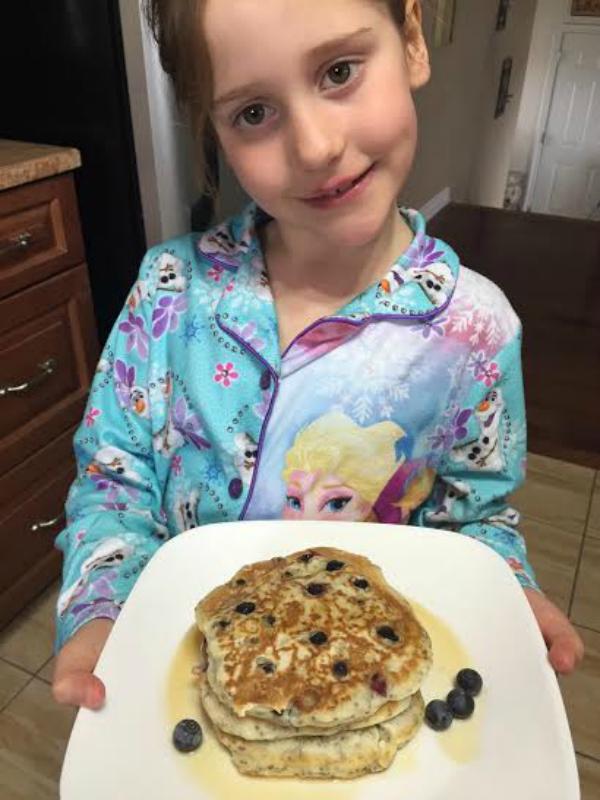 kaylie pancakes
