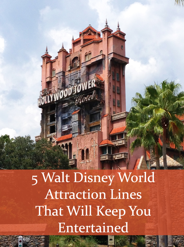 5 Entertaining Line Waits at Walt Disney World