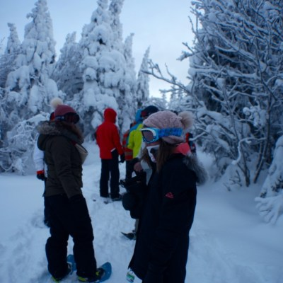 The Mont Tremblant Snowshoe and Fondue Tour Is Winter Fun for Active Families