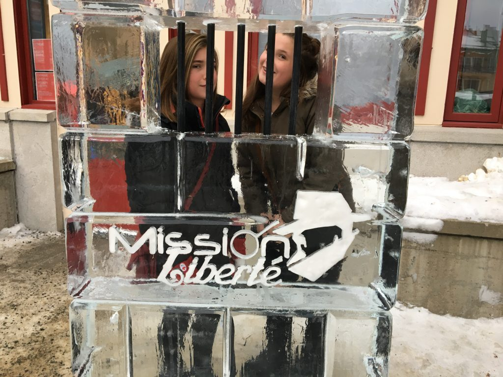 indoor activities in Tremblant, mission liberte, escape room