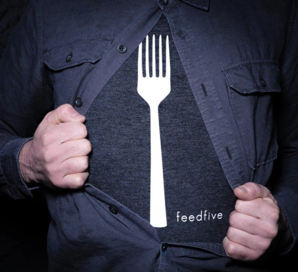 Father's Day, Father's Day gift, Feed Five T-shirt, foodies, foodie dads