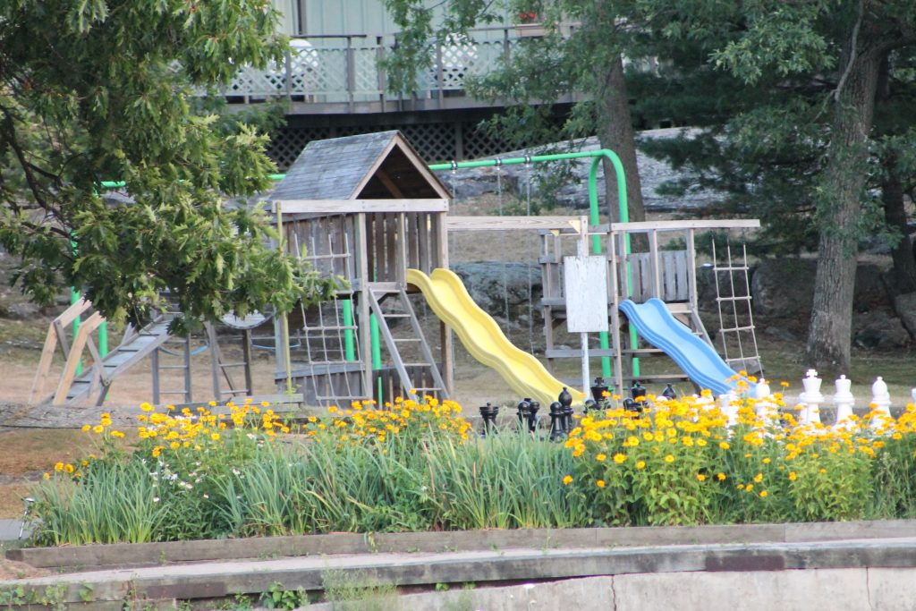 Playground at Delawana Resort