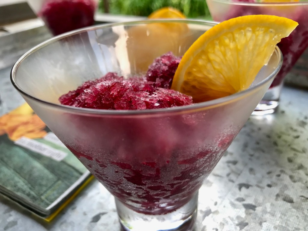 Frozen Sangria, Great for parties, make ahead