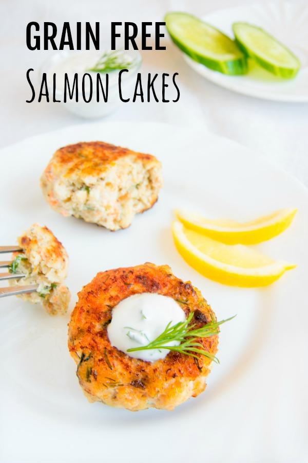 salmon cakes