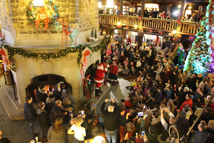 Best places to meet Santa, Montebello