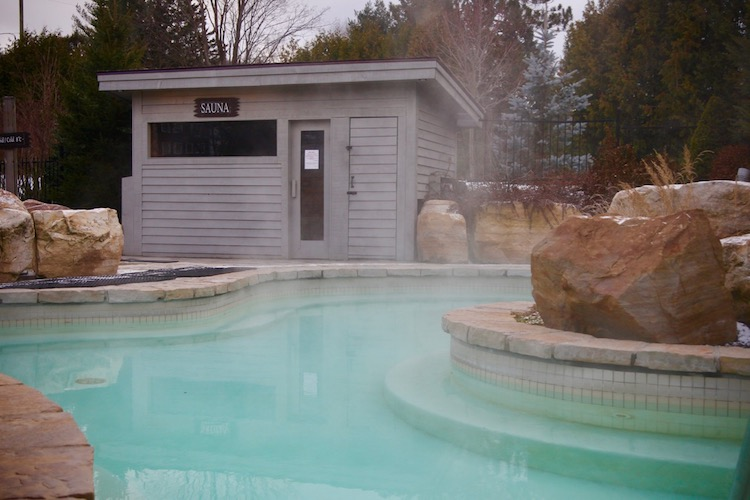 Manoir Saint Sauveur, Thermal Experience, Outdoor hot tub, spa