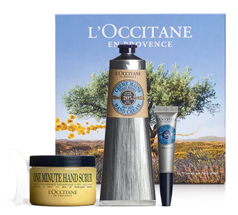 best winter beauty products, Shea Butter Manicure Set L'Occitane