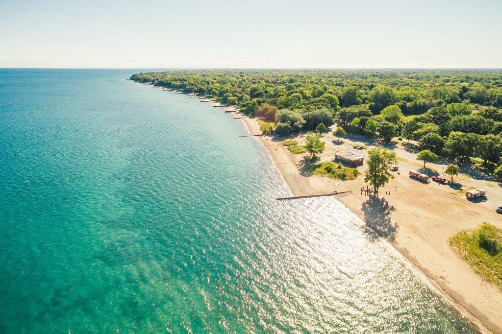 Canatara Park - The beaches in Southwest Ontario are great family destinations, close enough for day trips and weekend stays. Find one near where you live and take the kids this summer! | Life In Pleasantville